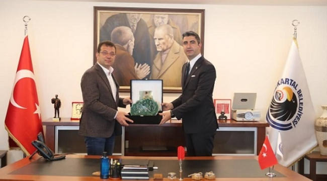İBB Başkanı Ekrem İmamoğlu'ndan Kartal Ziyaretı