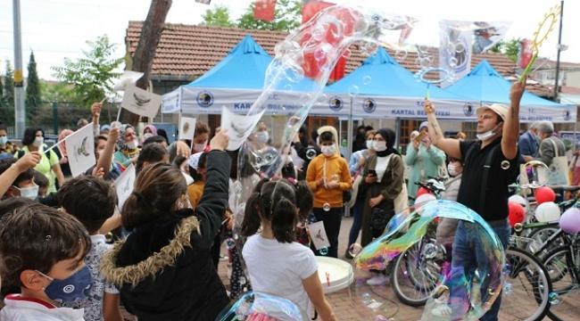 Kartal'da Dünya Çevre Günü'nde kutlama ve sevinç bir arada yaşandı