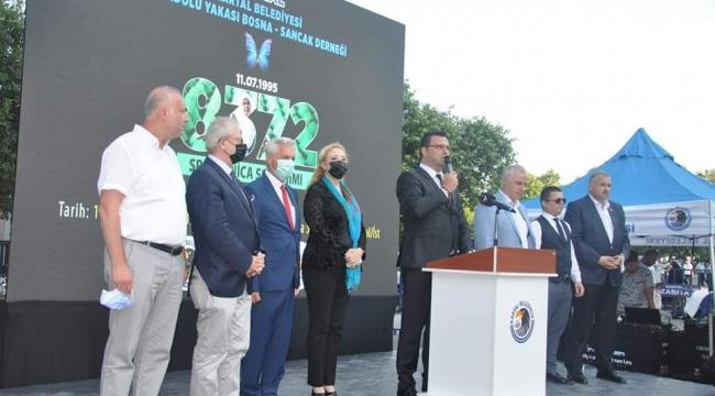 Srebrenitsa Soykırımı'nda Hayatını Kaybedenler Kartal'da Anıldı